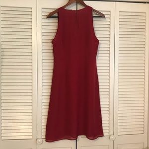 LOFT Dresses - Ann Taylor LOFT dress with cloth flowers, size 10
